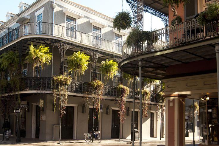 Vieux carré français - Nouvelle-Orléans - Louisiane - Etats-Unis