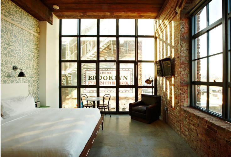 Wythe Hotel (Historic Corner King) - Brooklyn - New York - Etats-Unis