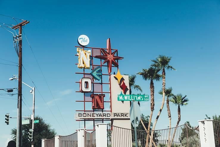 Neon Museum - Las Vegas - Etats-Unis