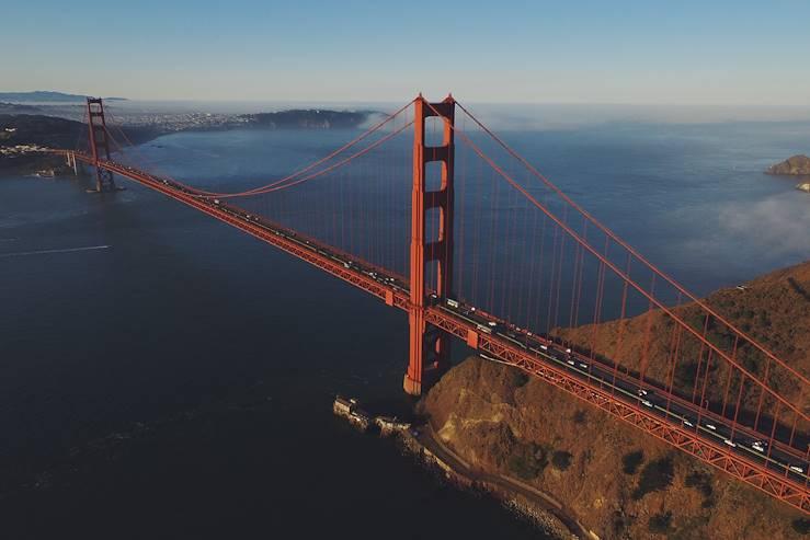 Golden Gate Bridge - San Francisco - Californie - Etats-Unis