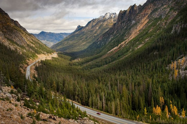 Highway 20 - Parc national des North Cascades - Etats-Unis