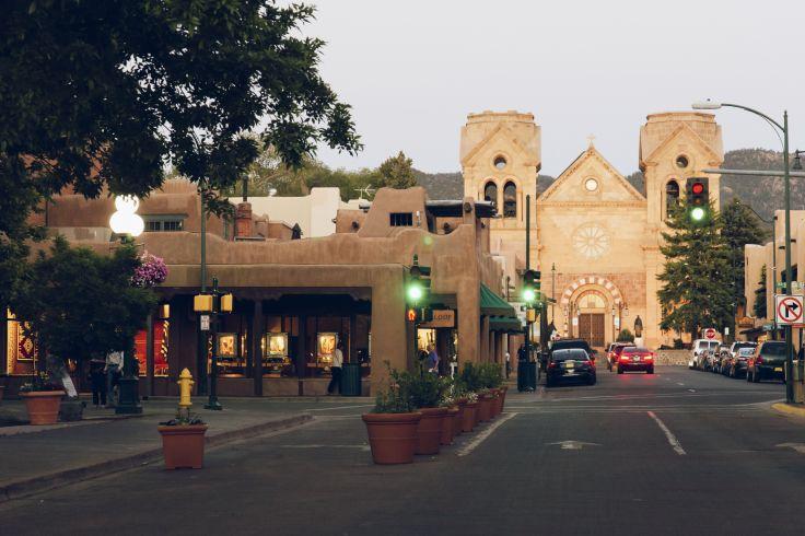 Santa Fe Ville - Nouveau-Mexique - Etats-Unis
