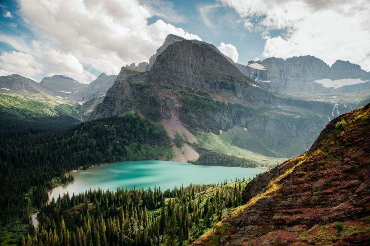 Parc national de Glacier- Montana - Etats-Unis