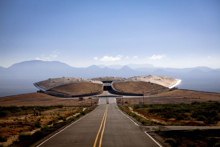 Spaceport America - Truth or Consequences - Nouveau-Mexique - Etats-Unis