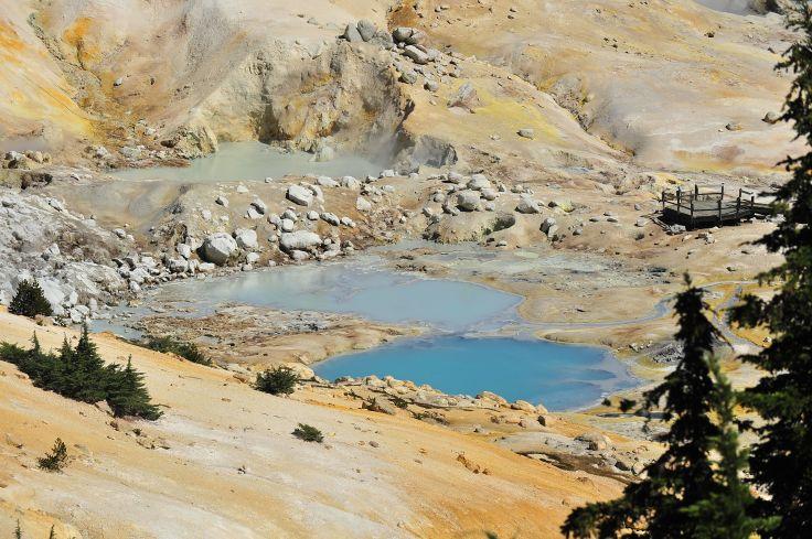 Parc national volcanique de Lassen - Californie - Etats-Unis