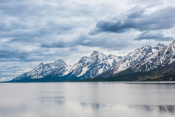 Oxbow Bend - Parc national de Grand Teton - Wyoming - Etats-Unis