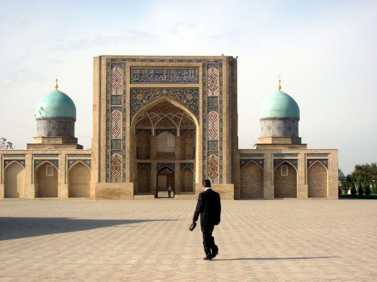Médersa Barak Khan et la place Khast Imam - Tashkent - Ouzbékistan