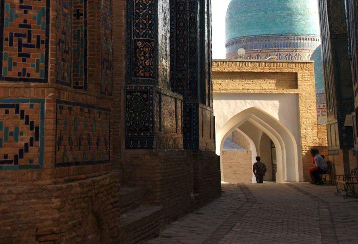 La nécropole de Chakhi-Zinda à Samarkand - Ouzbékistan