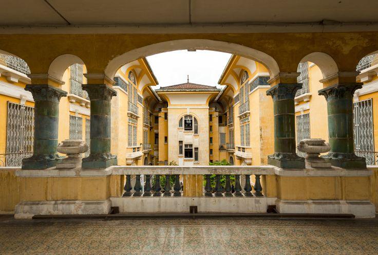 Musée des beaux-arts de Saïgon - Ho Chi Minh Ville - Vietnam