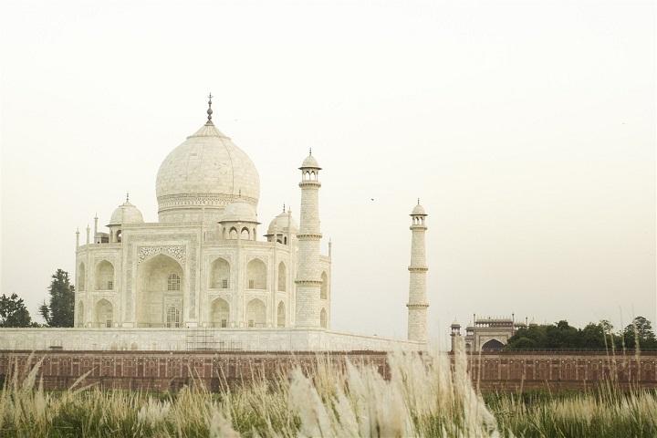Jolie photographie du Taj Mahal