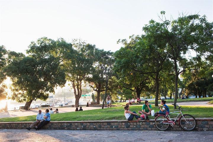 Parque Rodó à Montevideo
