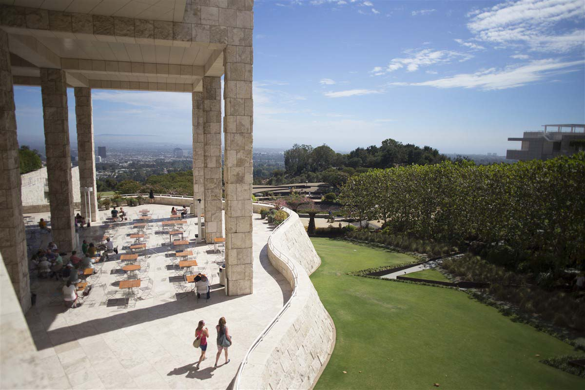 Terrasse du Getty Center