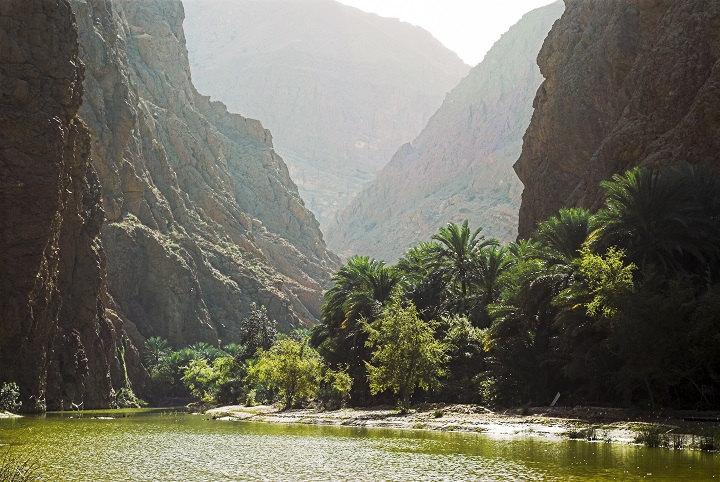 Vue du Wadi Tiwi