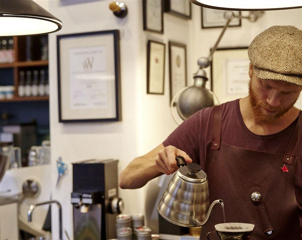 Café en Estocolmo