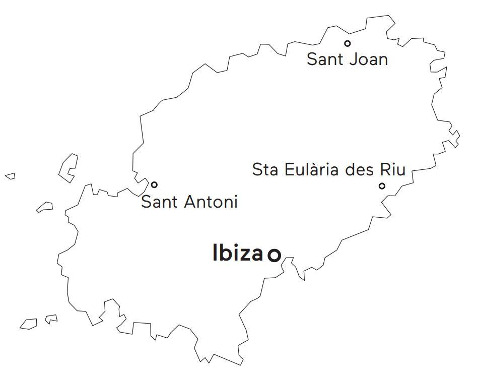 Carte d'Ibiza