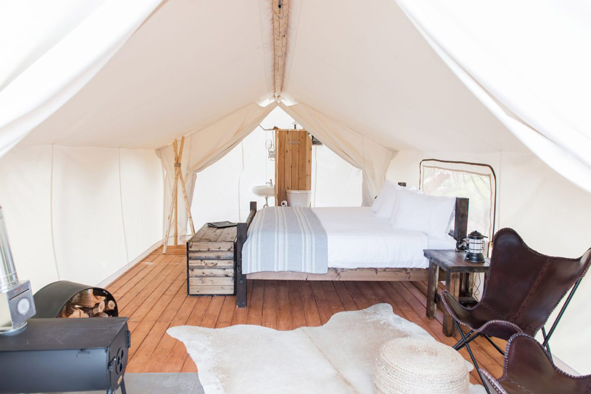 Glamping aux USA