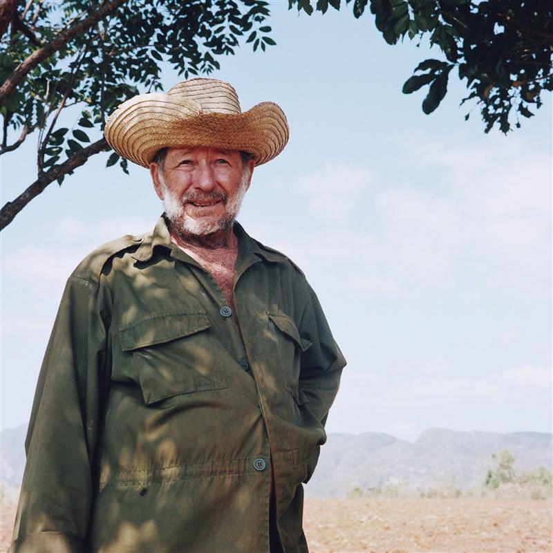 homme avec un chapeau à Cuba