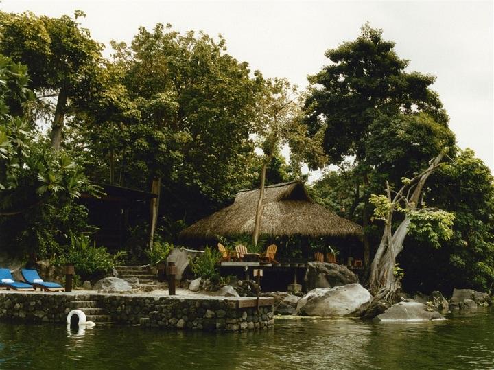 Plan d'eau et des arbres au Nicaragua
