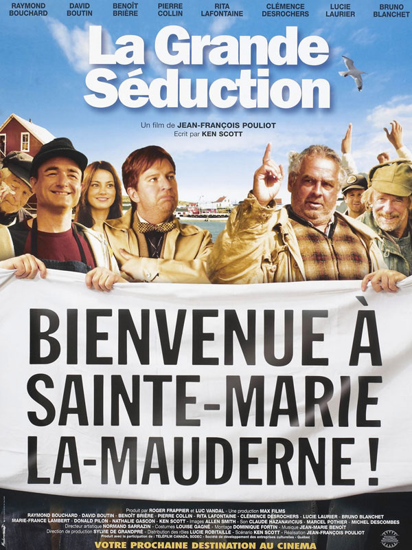 couverture du film La Grande Séduction
