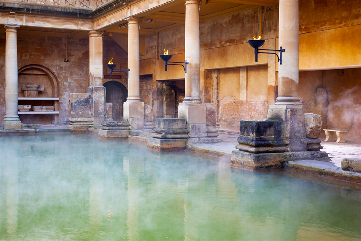 La station thermale de Bath