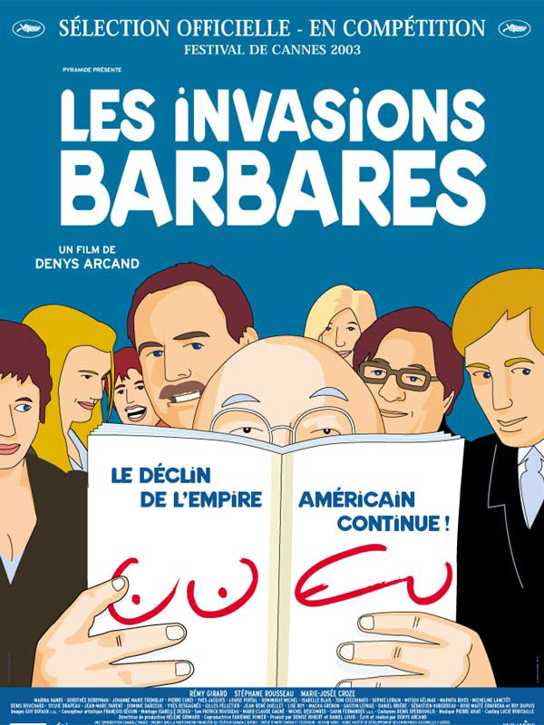 couverture du film Les Invasions Barbares