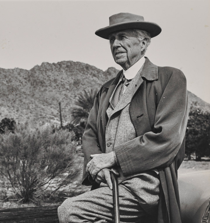 Photographie Frank Lloyd Wright