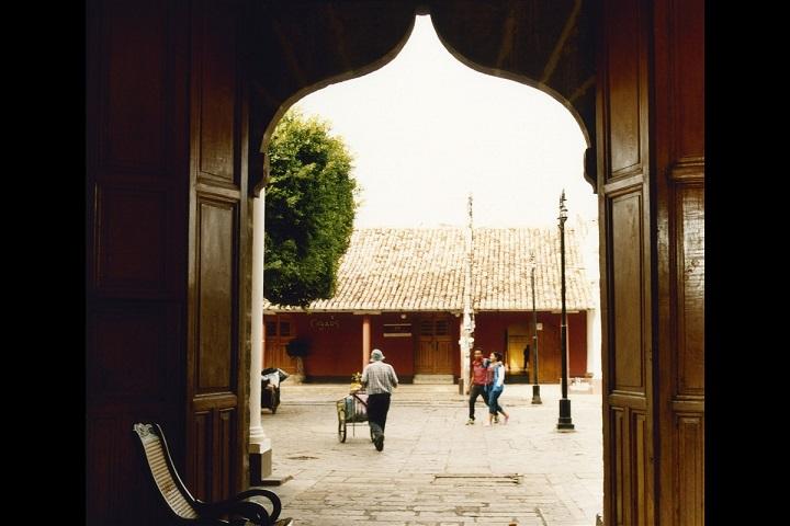 Joli porche de Granada au Nicaragua