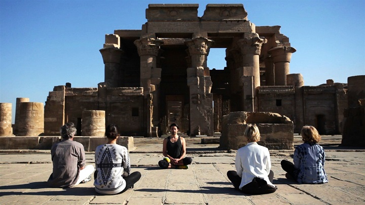 yoga en Egypte