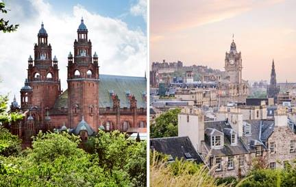 Glasgow vs Edimbourg : le match en 10 rounds